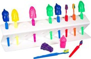 Toothbrush racks