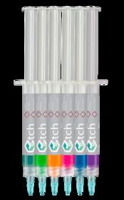 Bigger thumb e1 37 phosphoric acid etching gel 3ml 6pk multi colored e dental produc qj8dy0