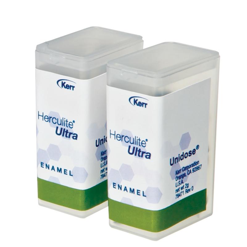 Herculite Ultra   A2 Enamel, Unidose, 0 2 g, 20/Box, 34348