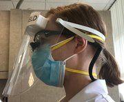 Big thumb simpleshield dental facial shield 20 pkg lead time 1 2 days verena solu q9x1ht