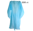 Small thumb disposable cpe isolation gown 200 case maxdoing limited d405255 qjyi80
