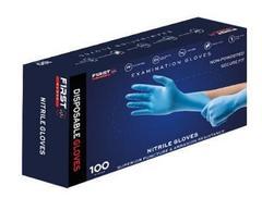 Bigger thumb first gloves nitrile exam medium box of 100 case of 1000 first glove fi qxzpq0
