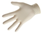 Big thumb latex powder free gloves