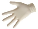 Small thumb latex powder free gloves