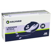 Big thumb halyard lavender nitrile gloves