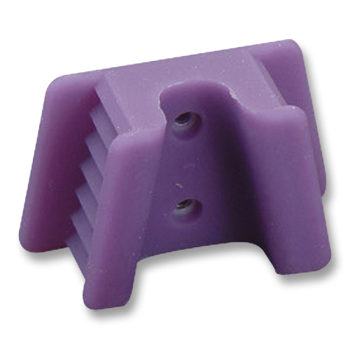 Mouth Prop - Silcone, Adult, Purple (2) | Supply Clinic