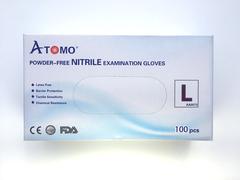Bigger thumb atomo dental premium qualit nitrile gloves  l