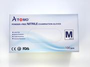 Big thumb atomo dental premium qualit nitrile gloves  m