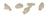 Tiny thumb 0000235 polycarbonate crown kit 180 pieces mark3
