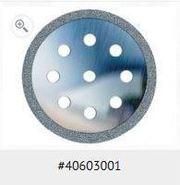 Big thumb microdontusamu 40603001flatdiamonddiscperforedperipheralandrimcuttingplasticblisterstainlesssteel