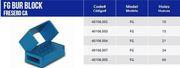 Big thumb microdontusamu 40106002sterilizablecontainersfg10holesindividualaluminum