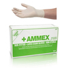 Small thumb ammex hand specific latex gloves apflr7