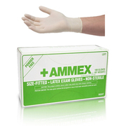 Big thumb ammex hand specific latex gloves apflr7