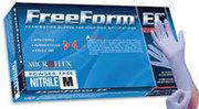 Big thumb microflex inc freeform ec gloves pf small 50 bx ffe 775 s