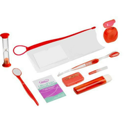 Big thumb zip pouch survival kit  24 ct  square