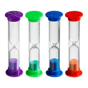 Big thumb 3 minute timer assorted colors  72 ct     square